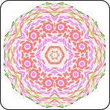 Symmetry colorful pattern Royalty Free Stock Photo