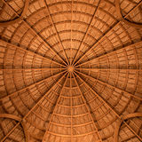 Symmetry. The dome of the Ummayad Mosque at Amman Citadel Stock Photos