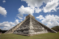 Symmetry of El Castillo Stock Image