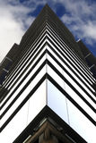 Symmetry of a glass building Stock Image