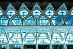 Symmetry in modern building Stock Image
