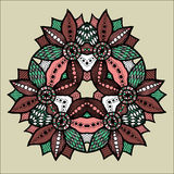 Symmetry pattern 03 Royalty Free Stock Images