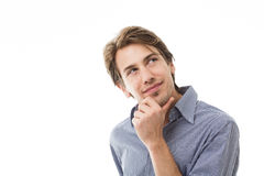 Sympathetic thoughtful man Royalty Free Stock Photography