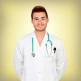 Sympathetic young doctor Royalty Free Stock Photos