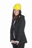 Sympathiegeschäftsfrau Stockfoto