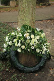 Sympathy wreath Royalty Free Stock Images