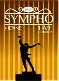 Sympho Vienne Live Concert Concept illustration libre de droits