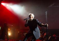 Symphonica 2 fez no Polônia a música do culto, dos grupos do subterrâneo, da rocha, do metal e do punk os polonêis dos anos 80 es Imagens de Stock