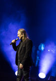 Symphonica - le spectacle de multimédia avec la musique par Metallica, nirvana, confiture de perle, Deep Purple, AC/DC, lance N†Image stock