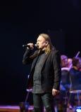 Symphonica - le spectacle de multimédia avec la musique par Metallica, nirvana, confiture de perle, Deep Purple, AC/DC, lance N†Image libre de droits