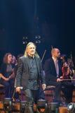 Symphonica - le spectacle de multimédia avec la musique par Metallica, nirvana, confiture de perle, Deep Purple, AC/DC, lance N†Photos libres de droits