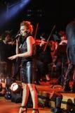 Symphonica - Schauspiel mit Musik durch Metallica, Nirwana, Perlen-Stau, Deep Purple, AC/DC, Aerosmith Lizenzfreie Stockfotografie