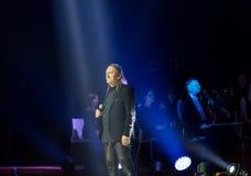 Symphonica - Schauspiel mit Musik durch Metallica, Nirwana, Perlen-Stau, Deep Purple, AC/DC, Aerosmith Stockfotografie