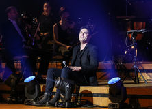 Symphonica - spectacle with music by Metallica, Nirvana, Pearl Jam, Deep Purple, AC/DC, Aerosmith Royalty Free Stock Photo