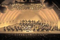 Symphonie spielt Tchaikovsky am Hollywood Bowl, Los Angeles, Kalifornien Stockfotografie