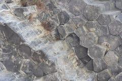 Symphonie von Steinen, Garni-Schlucht, Armenien Stockbild