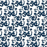 Symphony acanthus ornament pattern Stock Image