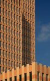 Symphony building. Symphonybuilding near the famous WTC Amsterdam stock image