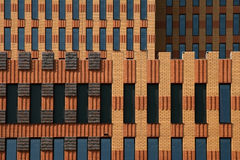 Symphony building. Symphonybuilding near the famous WTC Amsterdam royalty free stock images
