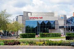 Symphony Hall, Birmingham. Royalty Free Stock Images