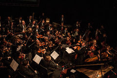 Symphony Orchestra Stock Photo