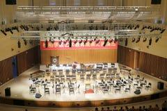 Symphony stage Stock Photos