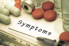 Symptoms Stock Photo
