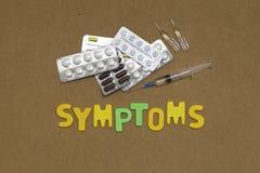Symptoms Stock Image