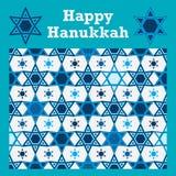 Symétrie d'étoile de Hanoucca sans couture Image stock