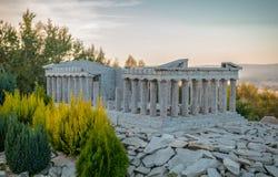 Symulacja Parthenon, akropol Obraz Royalty Free