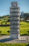 Symulacja Pisa wierza Fotografia Stock
