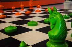 Symulacja szachy Fotografia Stock
