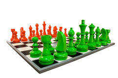 Symulacja szachy Obrazy Royalty Free