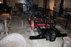 Symulujący pokaz rękawicznik maszyny pracy Zdjęcie Royalty Free
