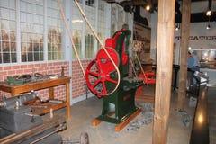 Symulujący pokaz rękawicznik maszyny pracy Zdjęcie Stock
