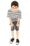 synad framsidadumbom för pojke kors sily royaltyfri fotografi