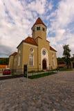 Synagoga Cesky Krumlov royaltyfri fotografi