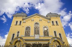 Synagoga i Edirne royaltyfri fotografi