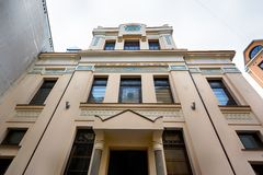 Synagoga i Riga arkivfoto
