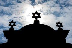 Synagoga, Trebic fotografia royalty free