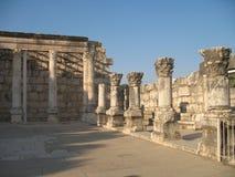 Synagoga w Capernaum Obrazy Stock
