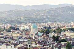 Synagoga w Florencja, Włochy Obraz Stock