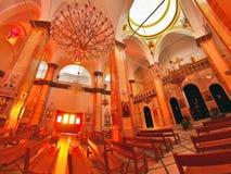 Synagogakyrka i Nazareth Royaltyfri Fotografi