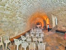 Synagogakyrka i Nazareth Royaltyfria Foton