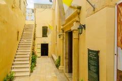 Synagogakyrkan i Nazareth Royaltyfri Foto