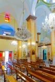 Synagogakyrkan i Nazareth Fotografering för Bildbyråer