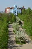 Synagoge in Astana Stock Afbeelding