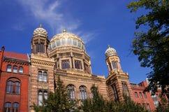 Synagoge Berlín fotos de archivo libres de regalías