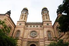 Synagoge in Boedapest Stock Fotografie