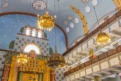 Synagoge in Boedapest Hongarije royalty-vrije stock afbeelding